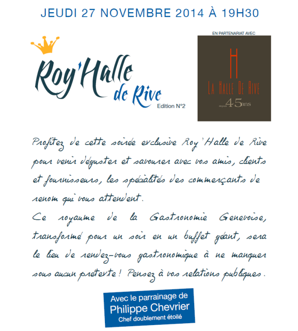 Roy'Halle de Rive 2014