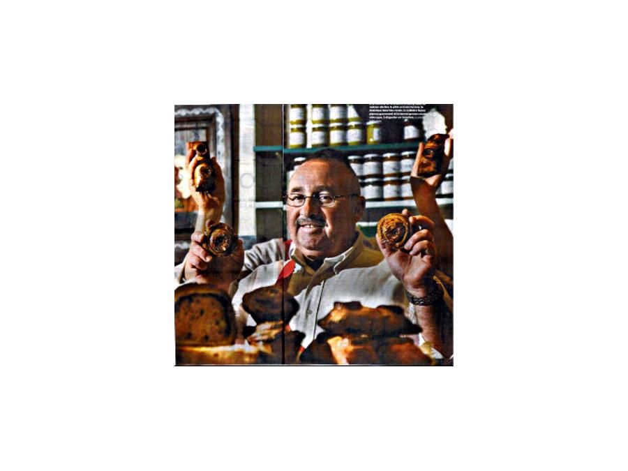 M. Eric Richard dans la Boucherie
